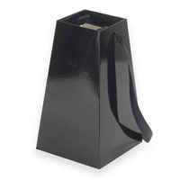 Grab´n go Vase black