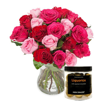 A sea of roses - Giftset