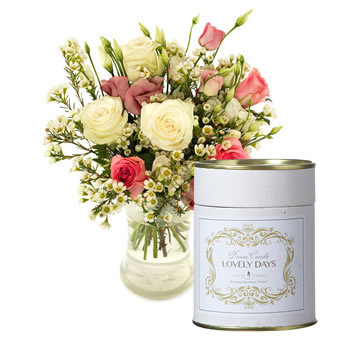 Scented gift with roses