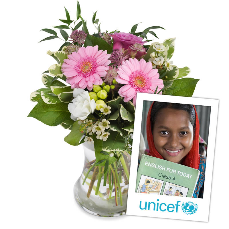 UNICEF bouquet