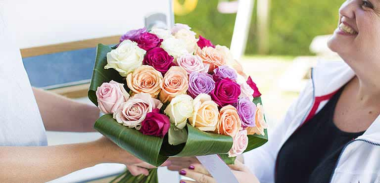 Send blomster til mamma