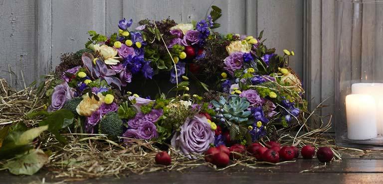 Begravelseskranser bundet med omsorg