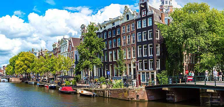 Send flowers to the Netherlands