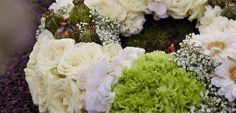 Funeral - wreath