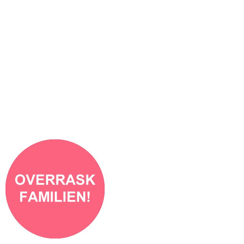 Rød bukett og julegodt_overlay