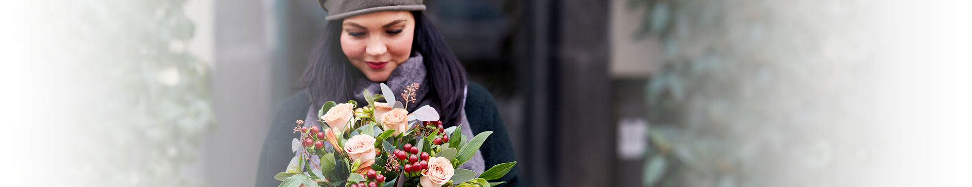 Send blomster med en personlig hilsen