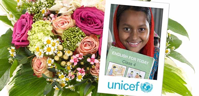 UNICEF & Euroflorist